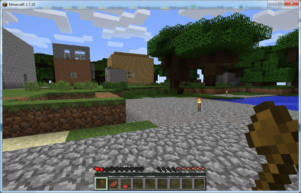 Minecraft 1.7.10 скачать торрент бесплатно