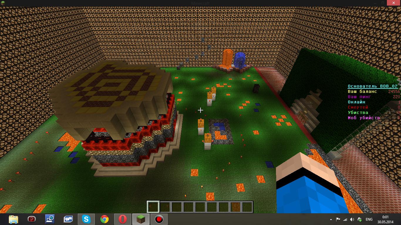 HiTech сервера Minecraft - мониторинг, ip адреса, топ ...